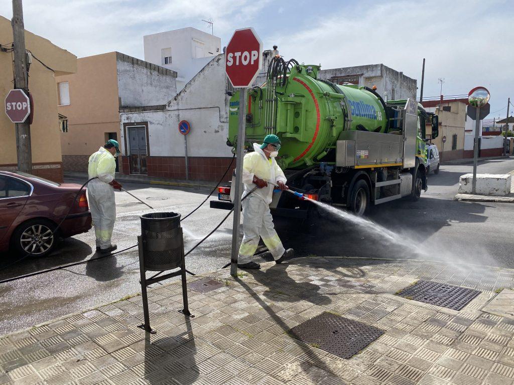 Proyectos desinfección de coronavirus en localidades
